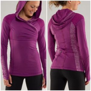 Lululemon Run For Your Life Pullover Purple Size 6
